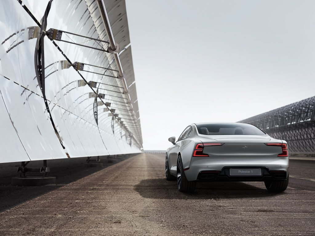 Polestar Silver and Cherrydeck Competition