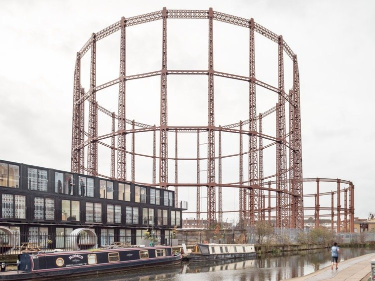 Haggerston Gas Works by Francesco Russo