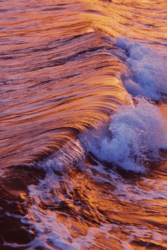 Dmitry Bayer - yellow, red, purple sea