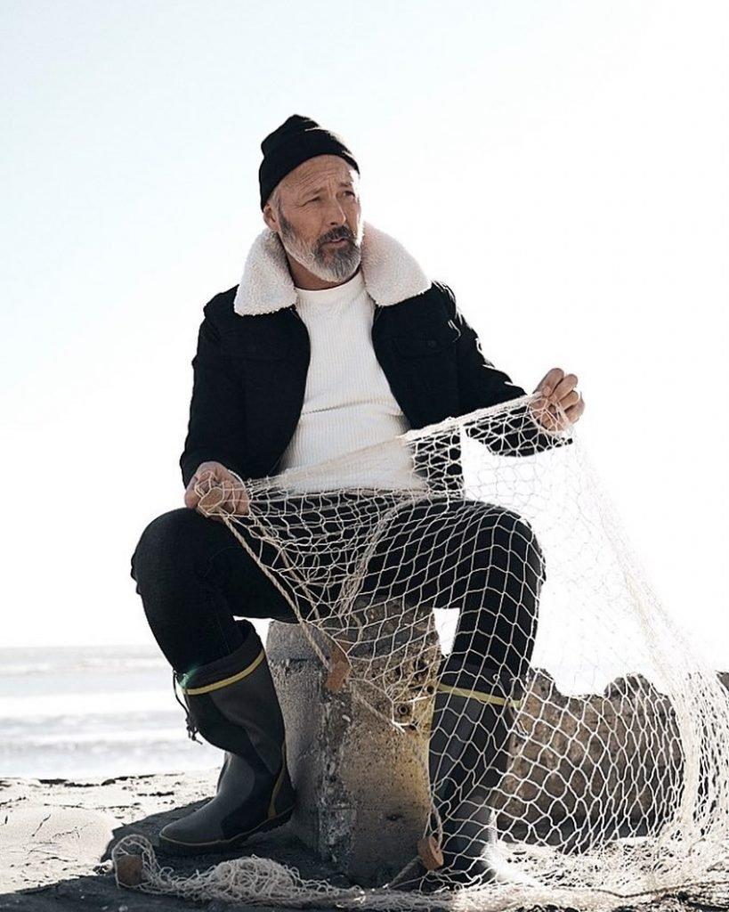 Aged Model, Martino Model, fisherman