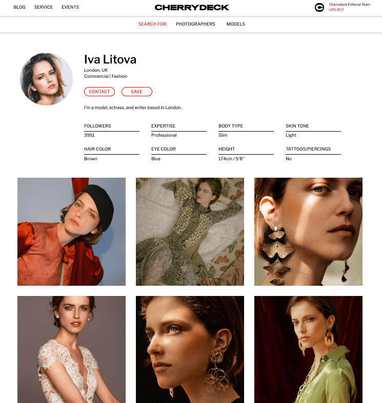 Find models to collaborate with
