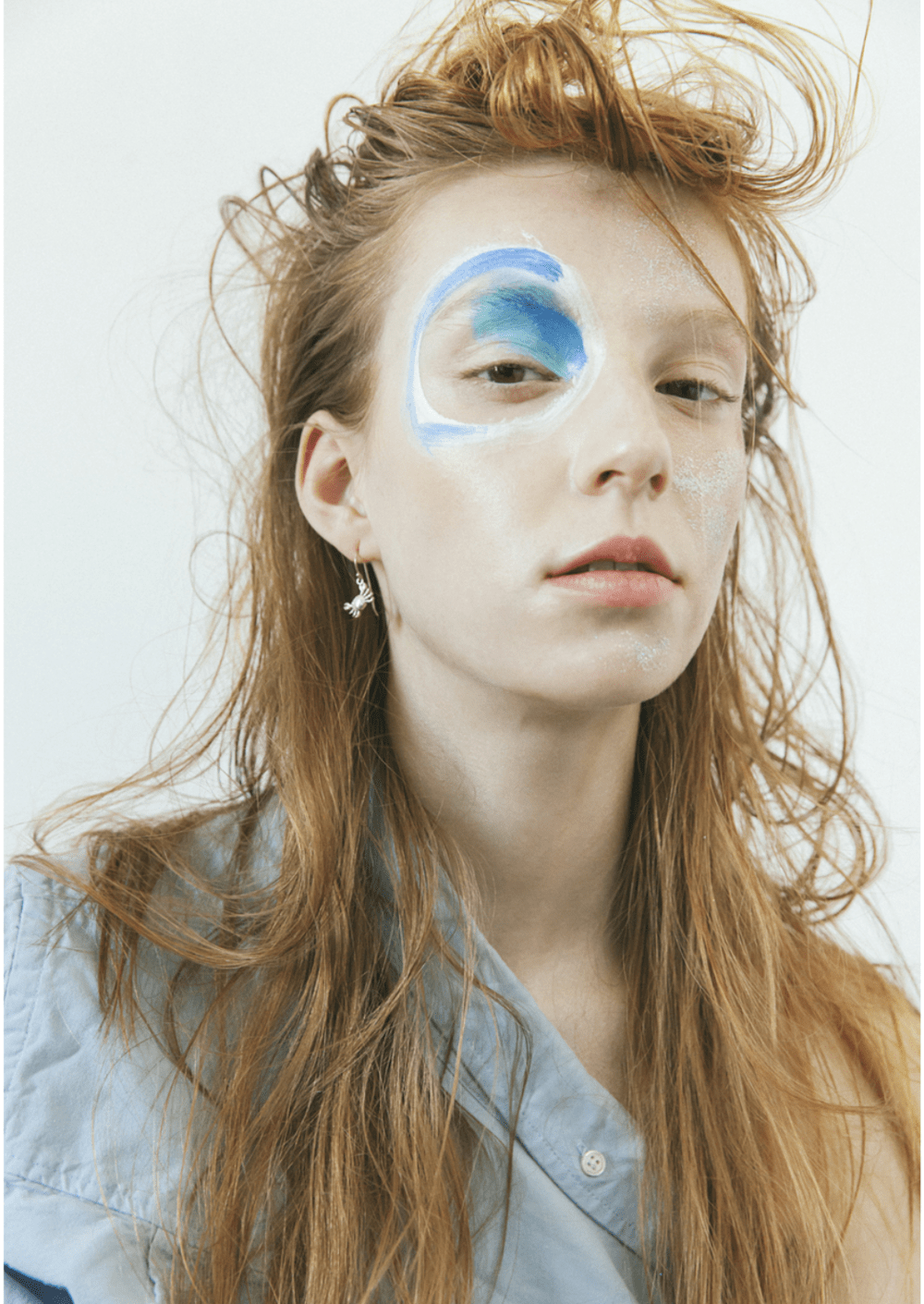 Naomi Wu David Bowie for Vogue Italia