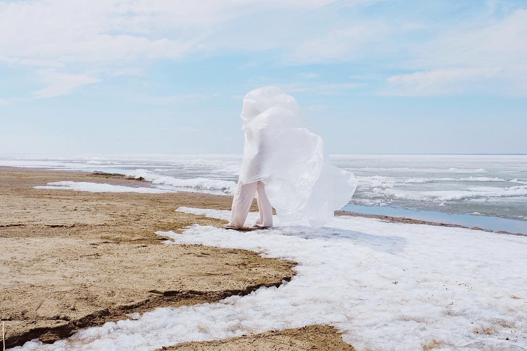Anna Shvets white ice snow cover wind calming images