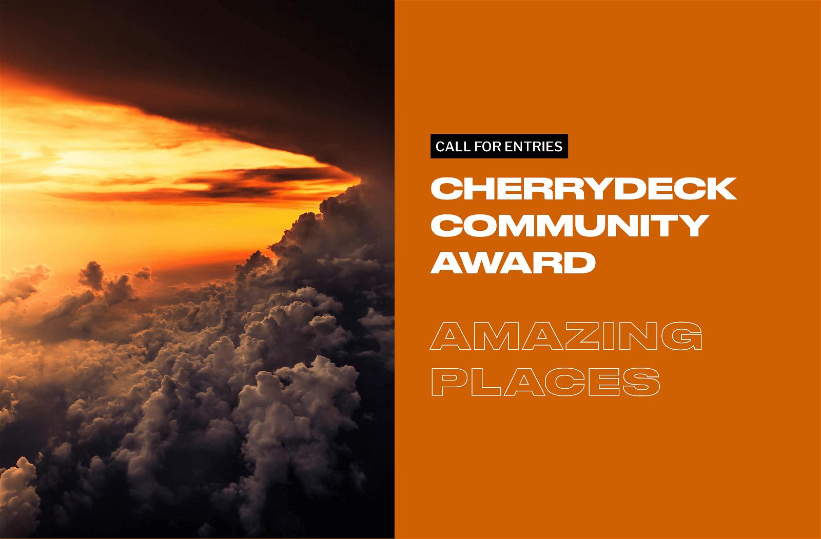 Cherrydeck Community Award Amazing Places