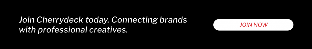 Cherrydeck connects brands with creative professionals.