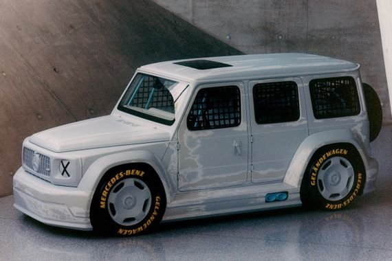 The Mercedes G-Class by Abloh and Wagener