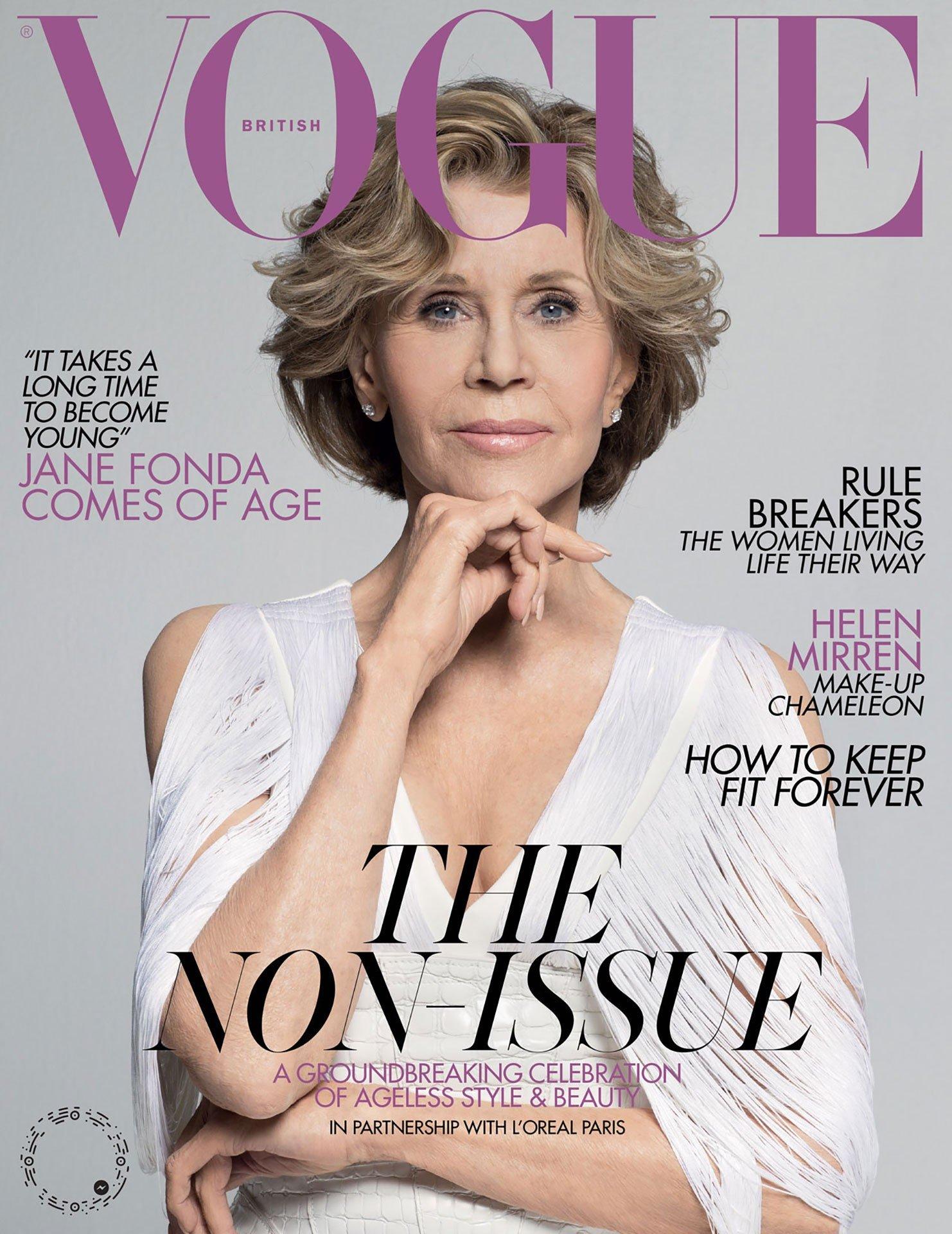 Representation of older women in the media