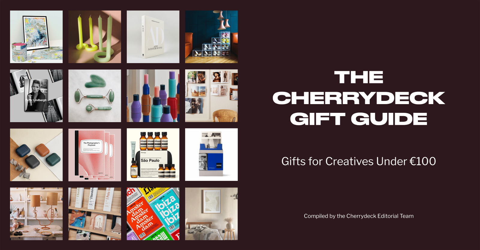 Cherrydeck Holiday Gift Guide for Creatives