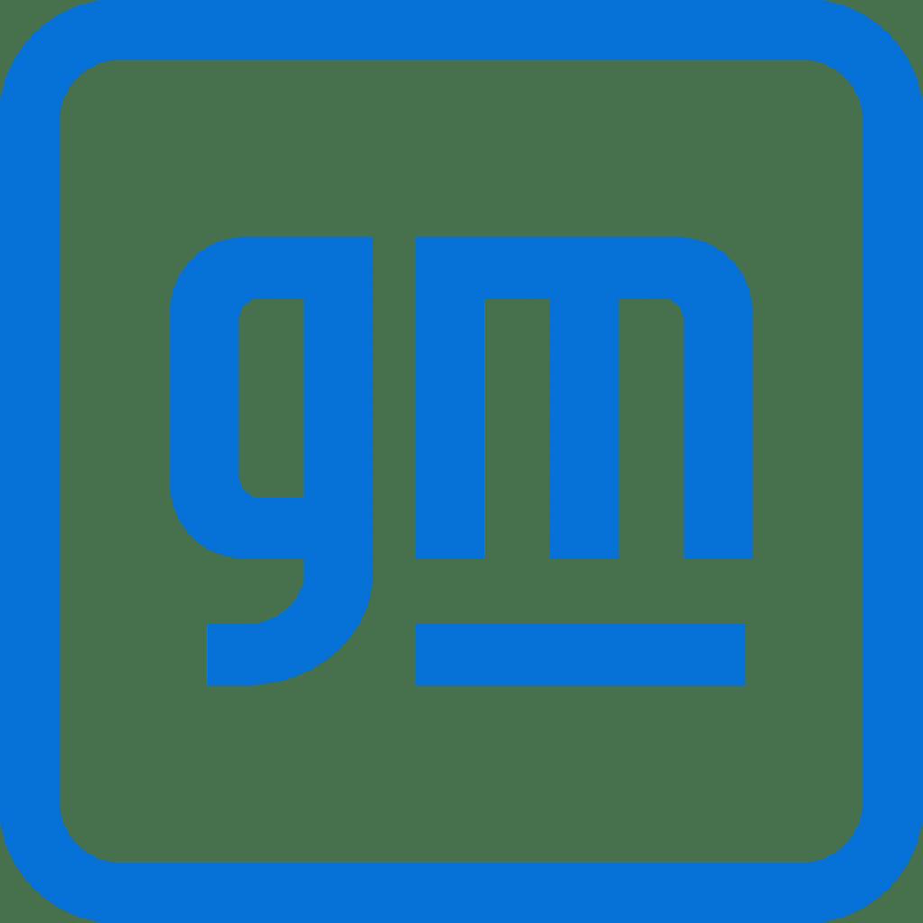 news creative industry: general motors new logo