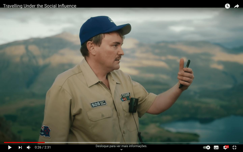 New Zealand Tourism Campaign Social Influence