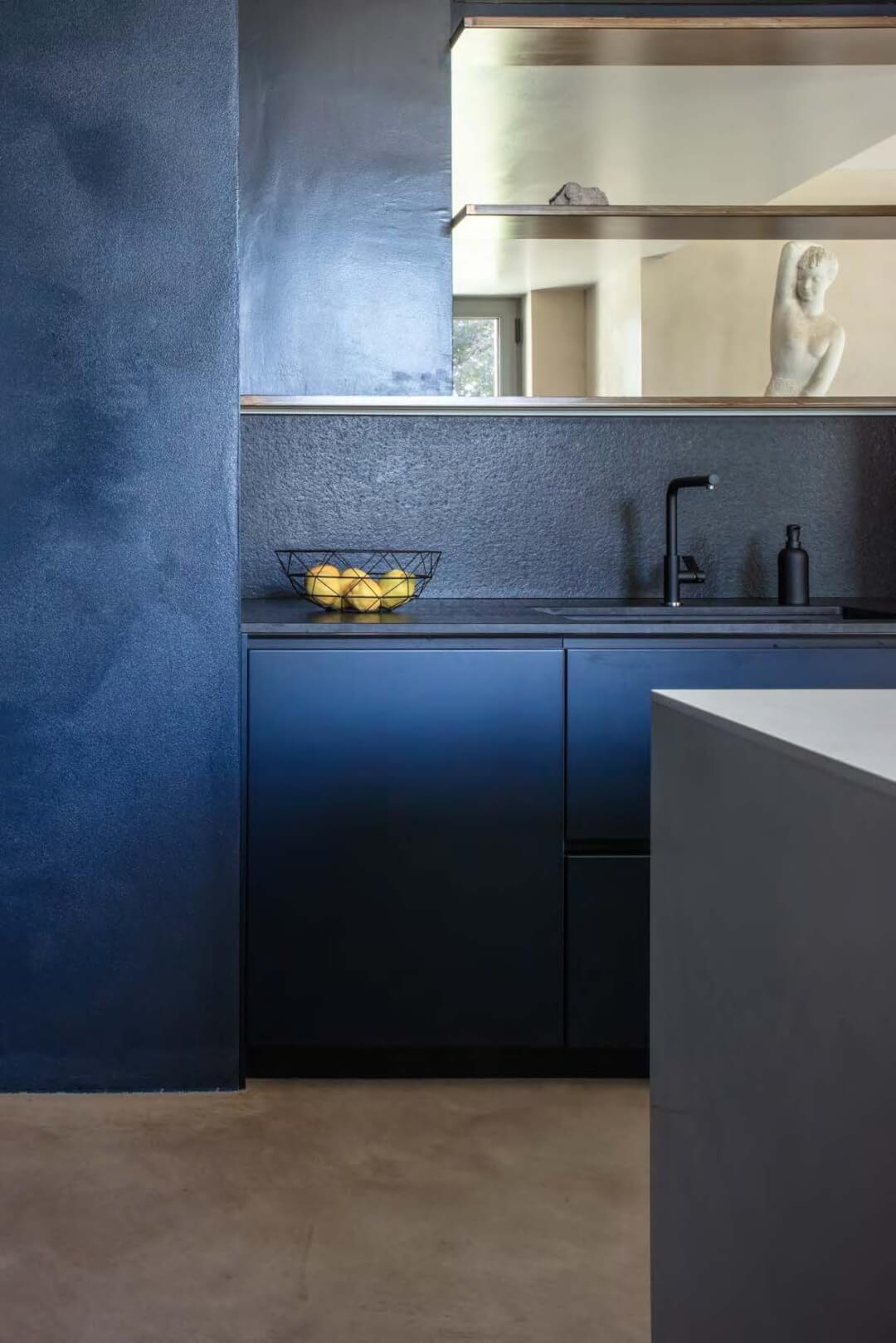 fresh talent blue kitchen photography