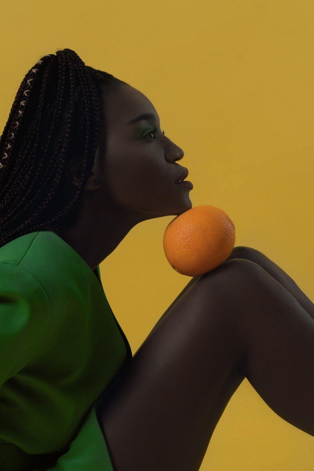 fresh talent on Cherrydeck portrait on yellow background