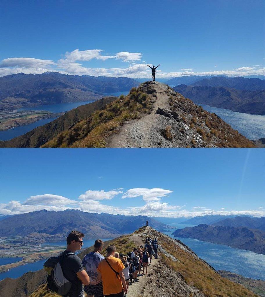 Tourism New Zealand social influence