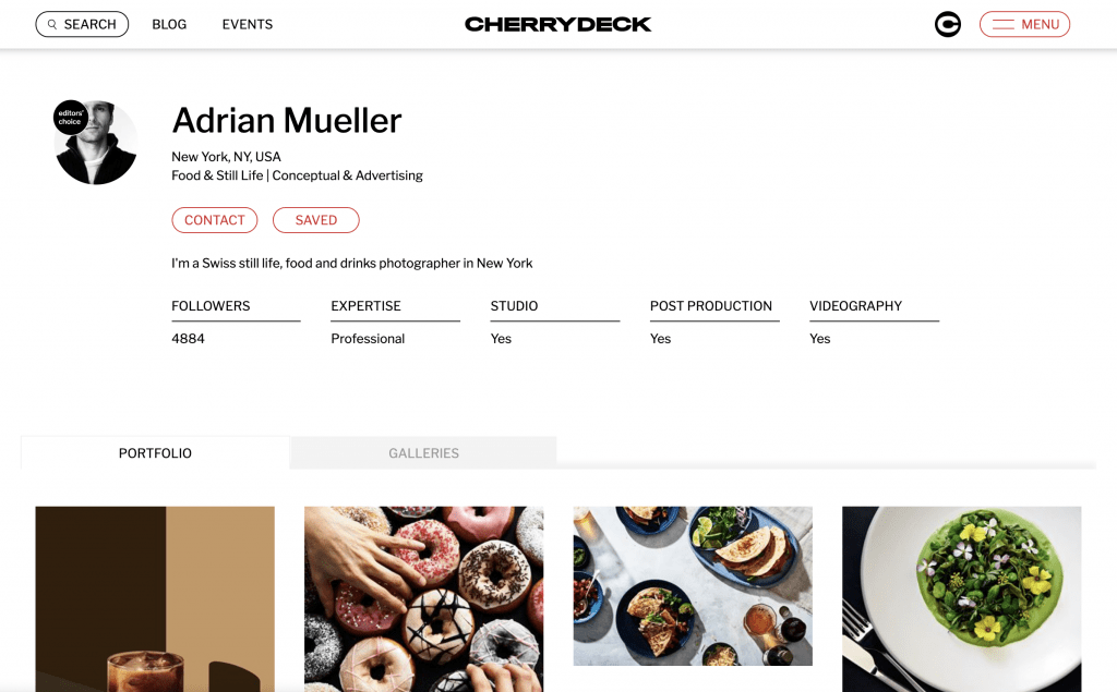 food photographers new york