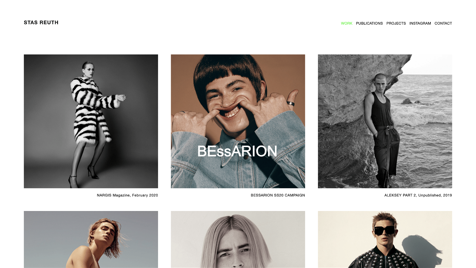 Most Beautiful Photographer Websites