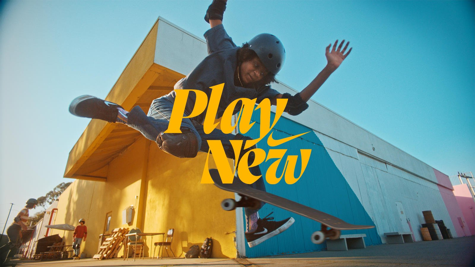 Nike Play New sports campaign video
