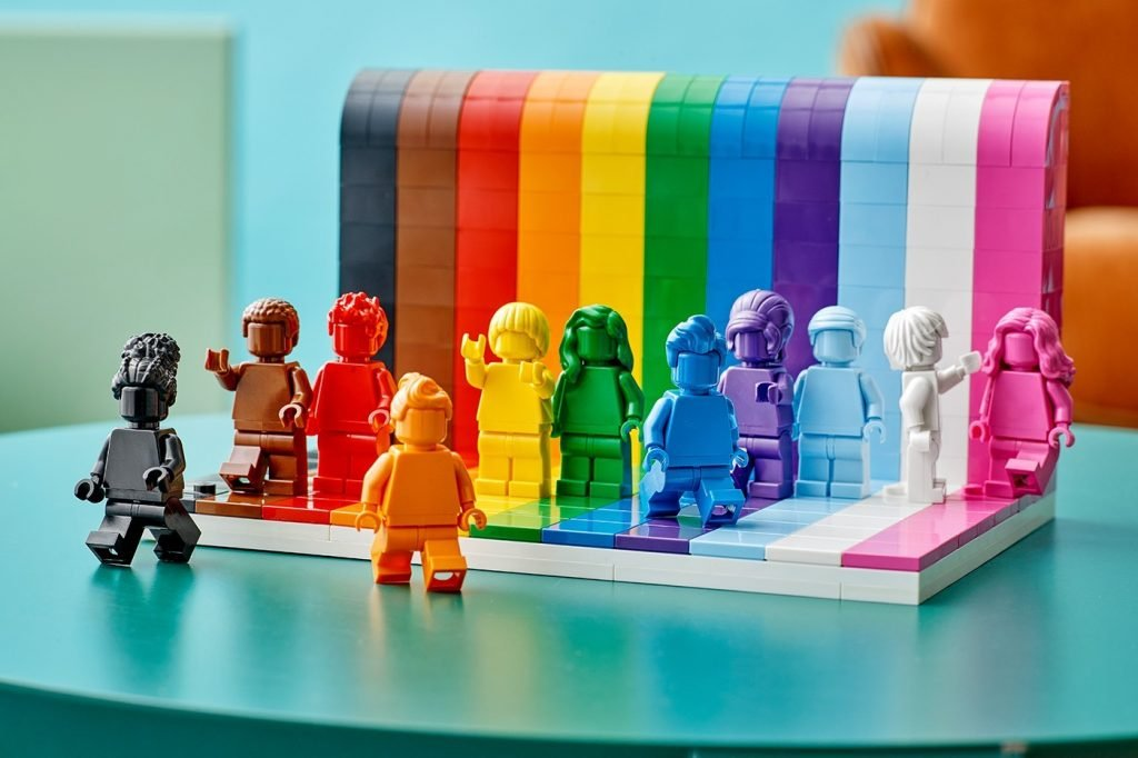 Pride campaign by LEGO