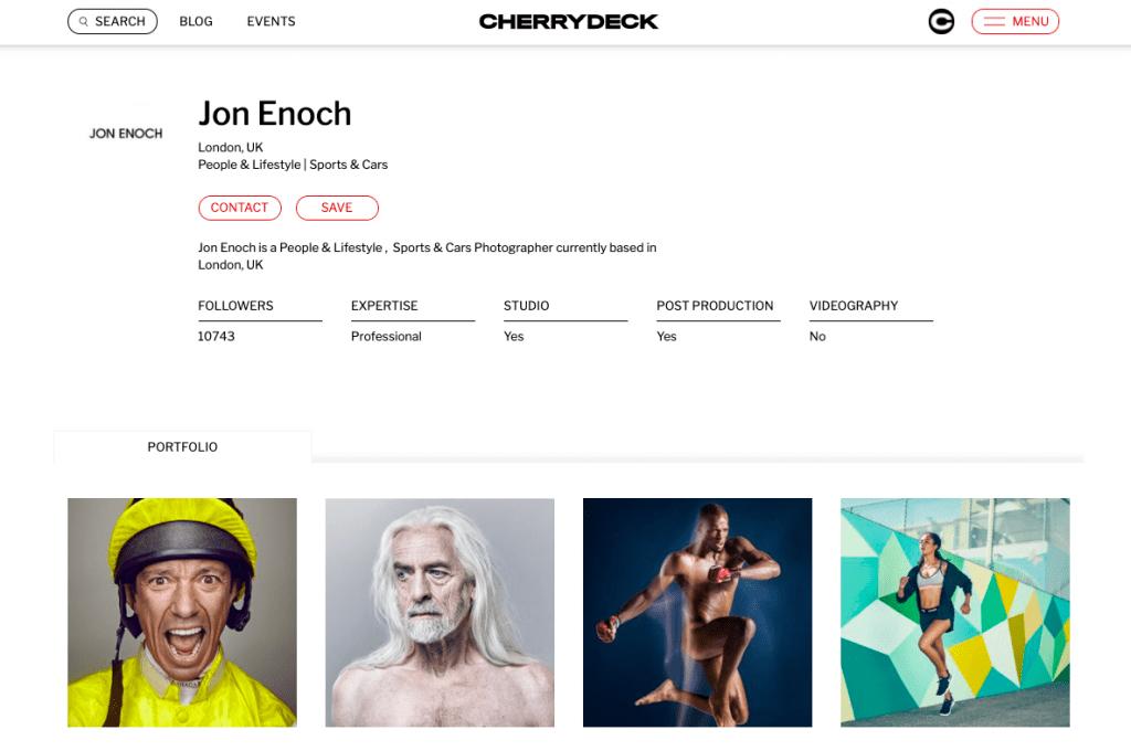 Lifestyle photographers in London, Jon Enoch