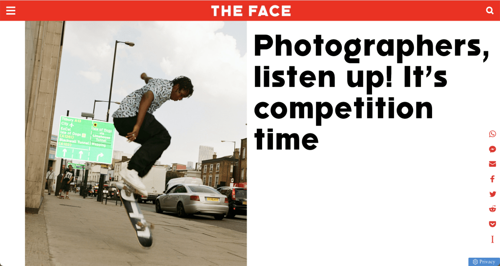 photography competitions in 2021